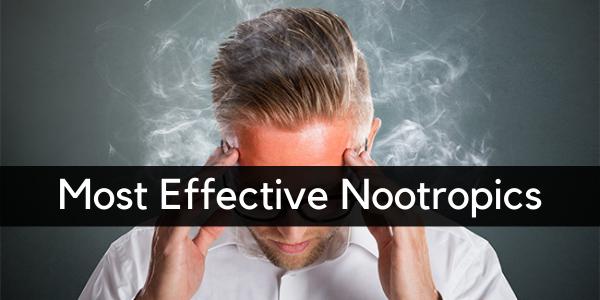 most effective nootropics