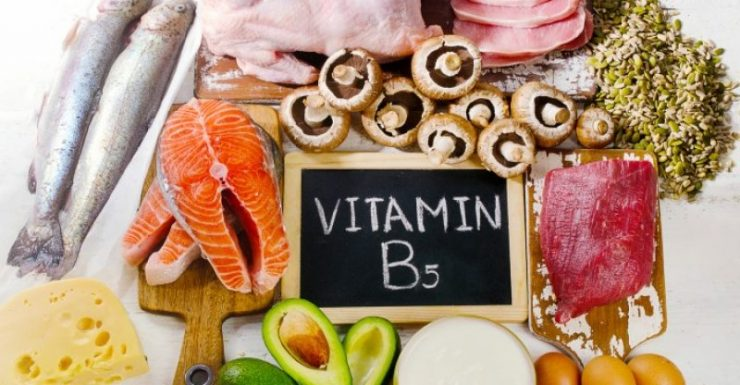 vitamin b5 for brain