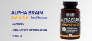 Alpha Brain Reviews