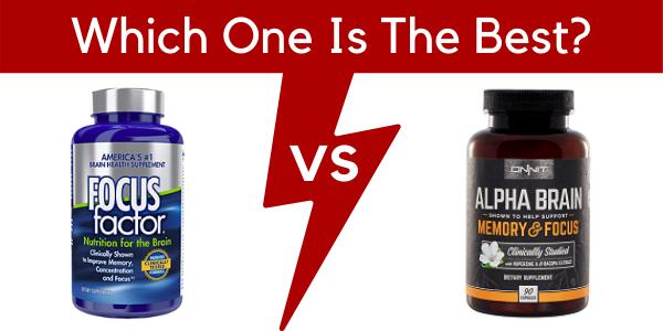 onnit alpha brain vs focus factor