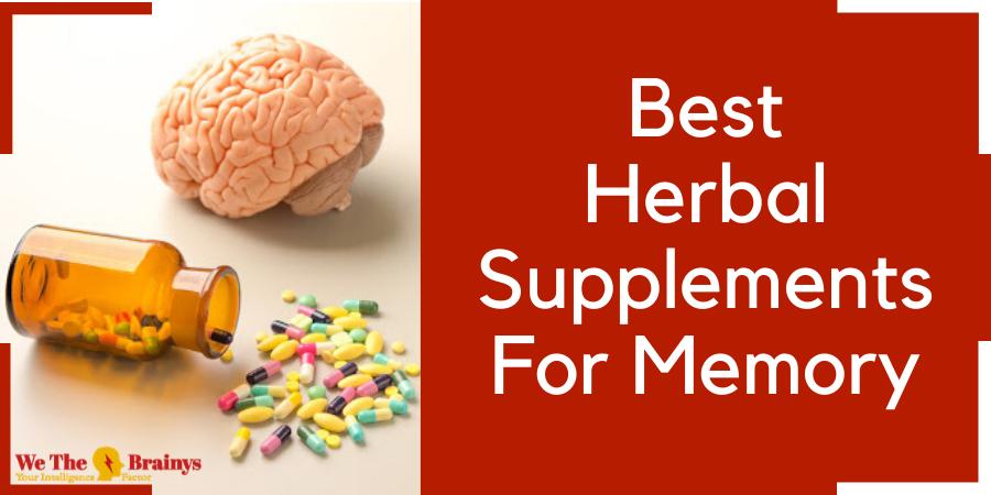 best herbal supplements for memroy
