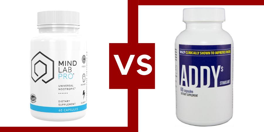 addys focus vs mind lab pro
