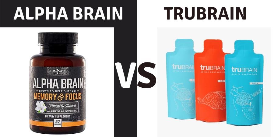 alpha brain vs trubrain
