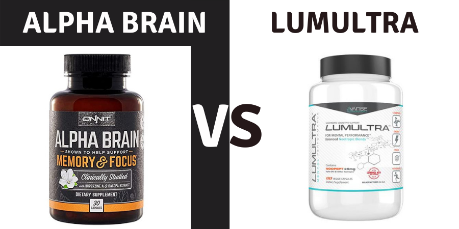 alpha brain vs lumultra