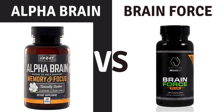 alpha brain vs brain force