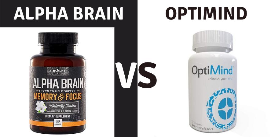 alpha brain vs optimind